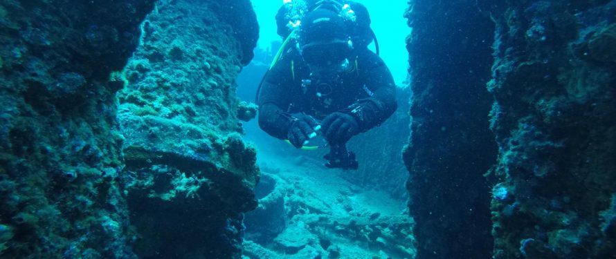 Scuba Diving Around The Gallipoli Peninsula