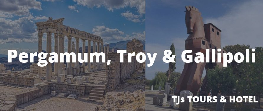 Pergamum, Troy & Gallipoli