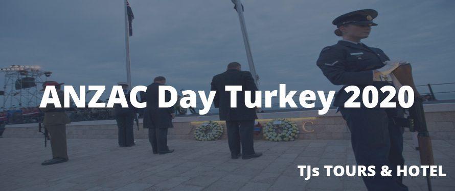 ANZAC Day Turkey 2020