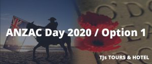 ANZAC Day Turkey 2020 / Option 1