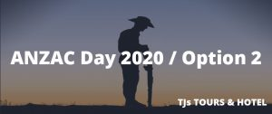 ANZAC Day Turkey 2020 / Option 2
