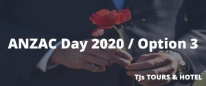 ANZAC Day Turkey 2020 / Option 3