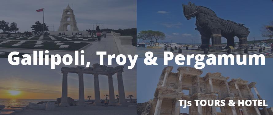Gallipoli, Troy & Pergamum Tour