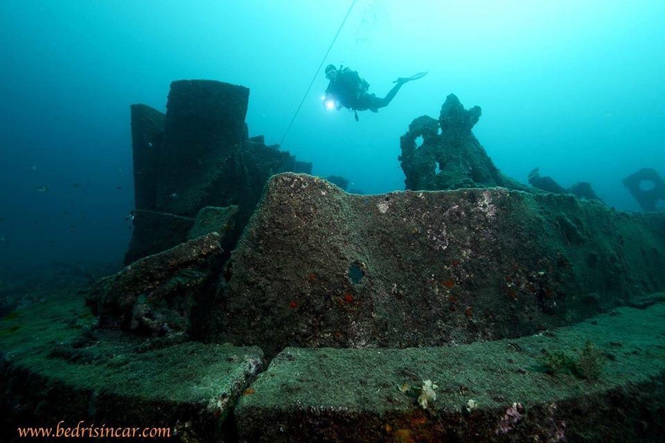 SCUBA DIVING – HMS MAJESTIC BATTLESHIP